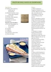 Fichier PDF filets de soles sauce au champagne francais