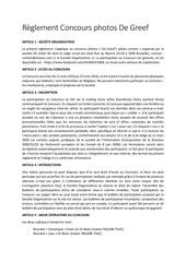Fichier PDF reglement concours photos de greef 2