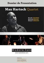dossier de presentation max hartock quartet
