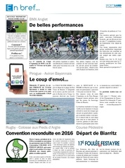 sportsland pays basque 22 breves
