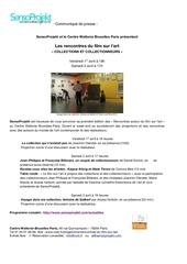 Fichier PDF senso rencontres films sur l art communique de presse
