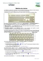maetriser le clavier