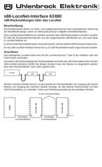 Fichier PDF uhlenbrock loconet s88