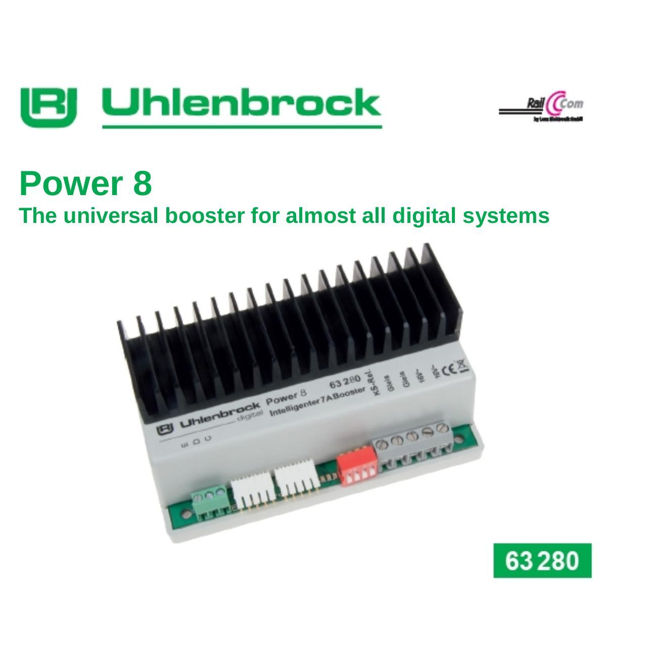 Uhlenbrock Power 8 63280 Par Wolf Fichier Pdf Loconet Dcc Wiring Diagram 63280pdf Page 1 28