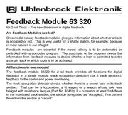 uhlenbrock retrosignalisation 63320