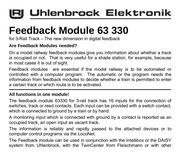 uhlenbrock retrosignalisation 63330
