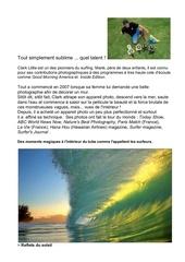 clark little est un des pionners photos surfees