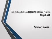 presentation faucons rhs 13 mars 2016