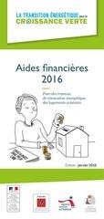 renovation habitat aides financieres 2016