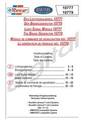 roco module signaux 10777
