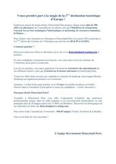 Fichier PDF disneyland paris
