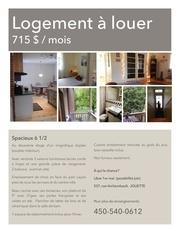 Fichier PDF 6 1 2 a louer rue archambault