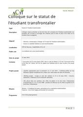 Fichier PDF fiche projet