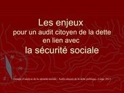 audit de la secu sociale