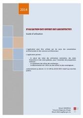 evaluation offres architectes guide