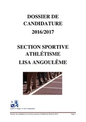 Fichier PDF dossier de candidature section sportive athle