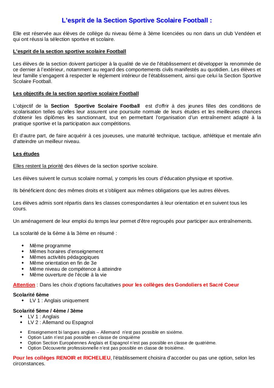 Dossier de candidature SSS Foot GROUPE FEMININ  2016-2017.pdf - page 3/12