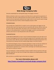 Fichier PDF web design company india