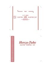 herco tube electric 2520blasting cap