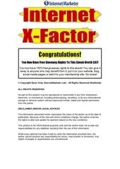 internetx factor