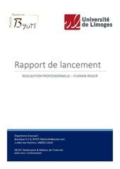 Fichier PDF rapport de lancement florian roger