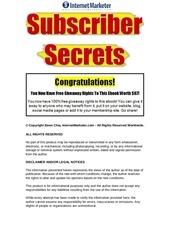 Fichier PDF subscribersecrets