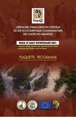 Fichier PDF flyer inauguration