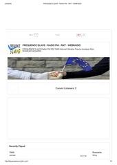 Fichier PDF frequence slave radio fm rnt webradio playlist 22h 48