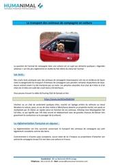 Fichier PDF transport d animaux de compagnie en voiture