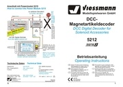viessmann decodeur dcc accessoires 5212