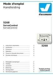 viessmann module servomoteur 5268 92012 01 fr nl web