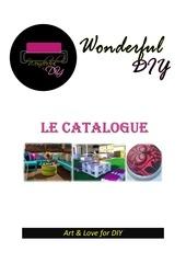 Fichier PDF catalogue wonderful diy
