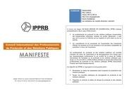 Fichier PDF le manifeste de l ipprb