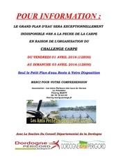 affiche info challenge avril 2016