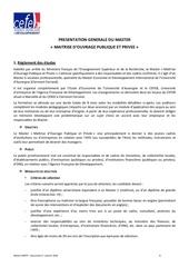 Fichier PDF presentation generale master