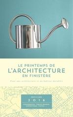 programme printemps architecture 2016