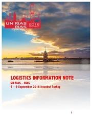 rias logistics information note v1