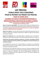tract 31 mars 2016 contre loi travail
