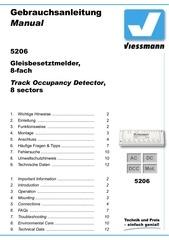 viessmann decteur occupation 5206