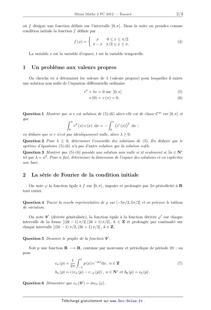 PC_MATHS_MINES_2_2012.enonce.pdf - page 2/4