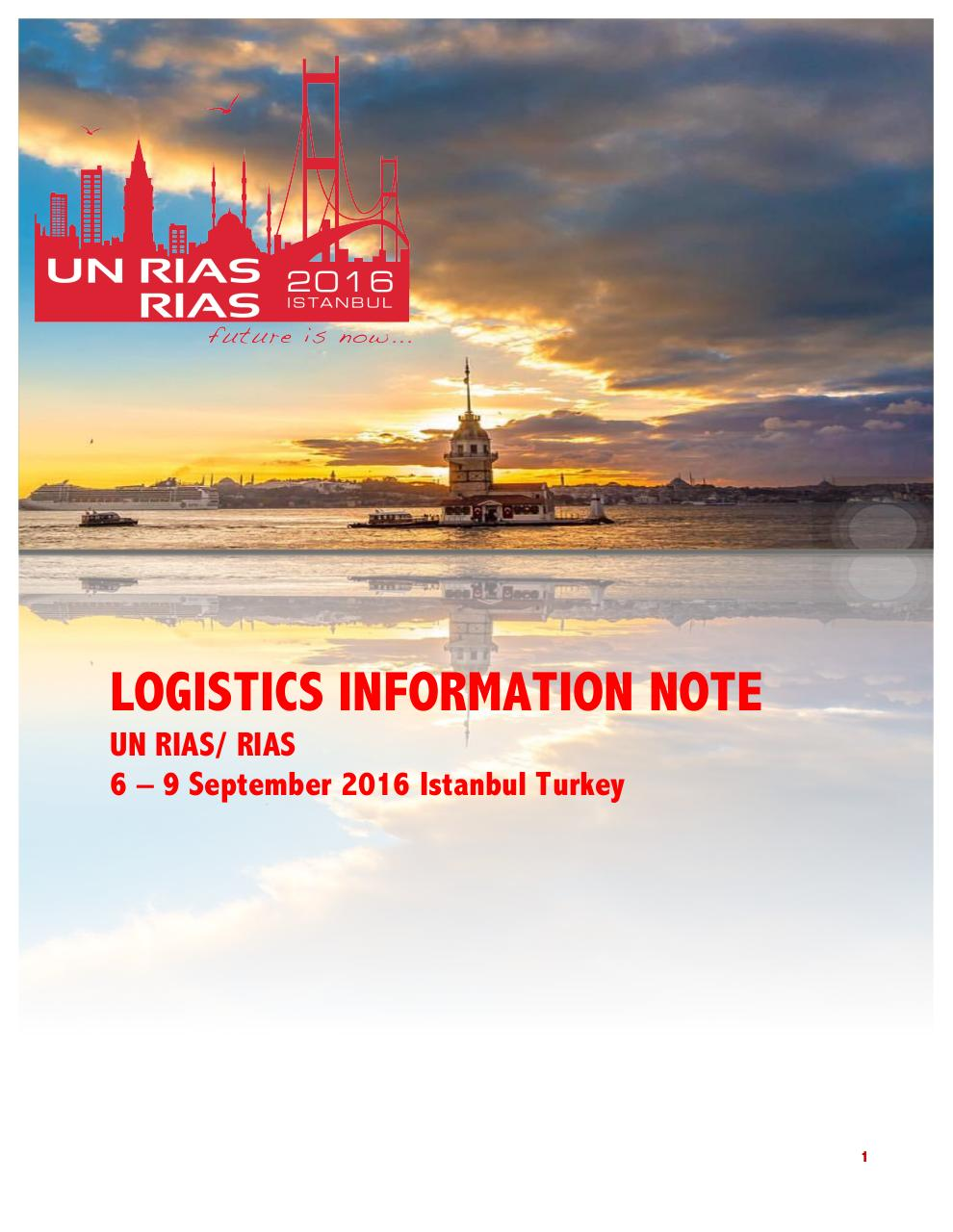RIAS LOGISTICS INFORMATION NOTE Def 2 (1).pdf - page 1/12