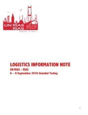rias logistics information note def 2