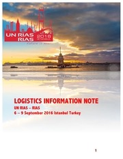 rias logistics information note def
