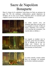 sacre de napoleon