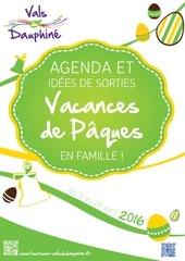 agenda vacances pa ques 2016
