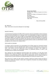 Fichier PDF lettre otre au ministre des transports sur la concurrence deloyale