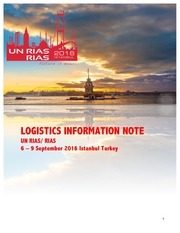 rias logistics information note def 3