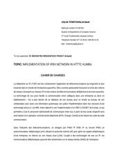 Fichier PDF cahier de charges