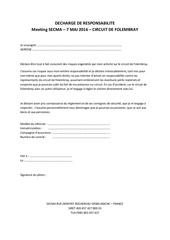 Fichier PDF decharge de responsabilite
