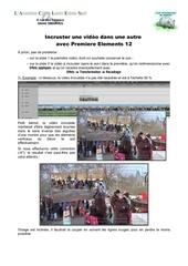 Fichier PDF incruster une video dans une autre